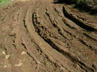 Chemin 4x4 vers le Camp Dimitil'