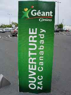 Ouverture geant casino nevers